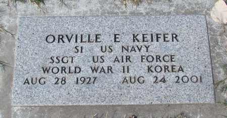 KIEFER (KOR), ORVILLE EUGENE - Marion County, Oregon | ORVILLE EUGENE KIEFER (KOR) - Oregon Gravestone Photos