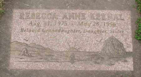 KERNAL, REBECCA ANNE - Marion County, Oregon | REBECCA ANNE KERNAL - Oregon Gravestone Photos