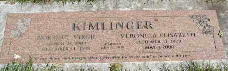 KIMLINGER, NORBERT VIRGIL - Marion County, Oregon   NORBERT VIRGIL KIMLINGER - Oregon Gravestone Photos