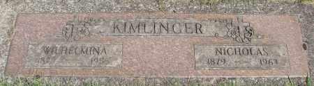 KIMLINGER, WILHELMINA - Marion County, Oregon   WILHELMINA KIMLINGER - Oregon Gravestone Photos