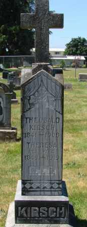 KIRSCH, THERESA - Marion County, Oregon   THERESA KIRSCH - Oregon Gravestone Photos