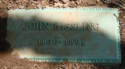 KISSLING, JOHN - Marion County, Oregon | JOHN KISSLING - Oregon Gravestone Photos