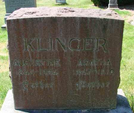 KLINGER, AUGUSTINE - Marion County, Oregon | AUGUSTINE KLINGER - Oregon Gravestone Photos