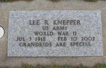 KNEPPER (WWII), LEE R - Marion County, Oregon | LEE R KNEPPER (WWII) - Oregon Gravestone Photos