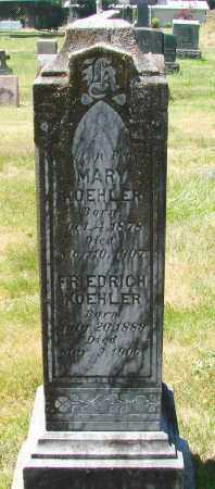 KOEHLER, MARY - Marion County, Oregon | MARY KOEHLER - Oregon Gravestone Photos