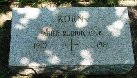 KORN, METHOD - Marion County, Oregon | METHOD KORN - Oregon Gravestone Photos