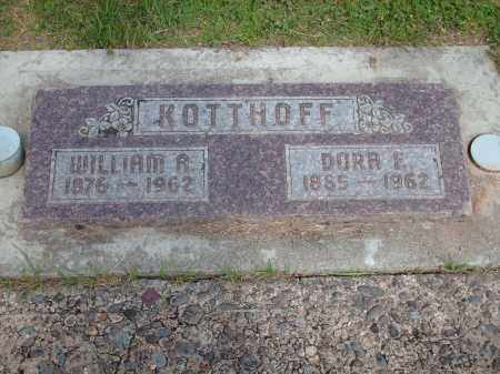 KOTTHOFF, WILLIAM A. - Marion County, Oregon | WILLIAM A. KOTTHOFF - Oregon Gravestone Photos