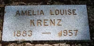 KRENZ, AMELIA LOUISE - Marion County, Oregon | AMELIA LOUISE KRENZ - Oregon Gravestone Photos