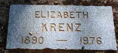 KRENZ, ELIZABETH ANNA - Marion County, Oregon | ELIZABETH ANNA KRENZ - Oregon Gravestone Photos