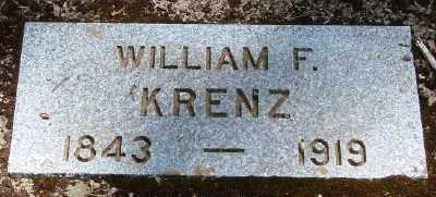 KRENZ, WILLIAM FREDERICK - Marion County, Oregon | WILLIAM FREDERICK KRENZ - Oregon Gravestone Photos