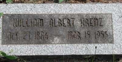 KRENZ, WILLIAM ALBERT - Marion County, Oregon   WILLIAM ALBERT KRENZ - Oregon Gravestone Photos