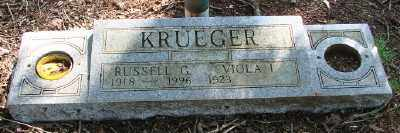 KRUEGER, VIOLA I - Marion County, Oregon | VIOLA I KRUEGER - Oregon Gravestone Photos
