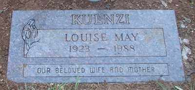 KUENZI, LOUISE MAY - Marion County, Oregon | LOUISE MAY KUENZI - Oregon Gravestone Photos