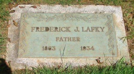 LAFKY, FREDERICK J - Marion County, Oregon | FREDERICK J LAFKY - Oregon Gravestone Photos