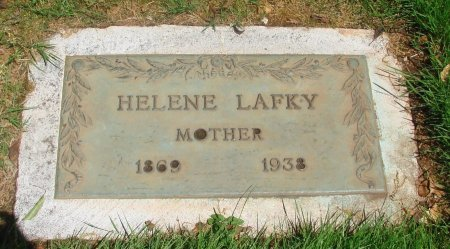 LAFKY, HELENE - Marion County, Oregon | HELENE LAFKY - Oregon Gravestone Photos