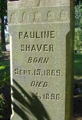 SHAVER LAFLEMME, PAULINE - Marion County, Oregon   PAULINE SHAVER LAFLEMME - Oregon Gravestone Photos