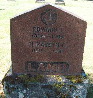 LAMB, EDWARD I - Marion County, Oregon | EDWARD I LAMB - Oregon Gravestone Photos