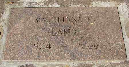 LAMB, MAGDELENA G - Marion County, Oregon   MAGDELENA G LAMB - Oregon Gravestone Photos