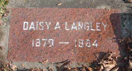 LANGLEY, DAISY AMANDA - Marion County, Oregon | DAISY AMANDA LANGLEY - Oregon Gravestone Photos