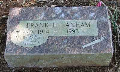 LANHAM, FRANK HOWARD - Marion County, Oregon | FRANK HOWARD LANHAM - Oregon Gravestone Photos