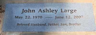 LARGE, JOHN ASHLEY - Marion County, Oregon | JOHN ASHLEY LARGE - Oregon Gravestone Photos