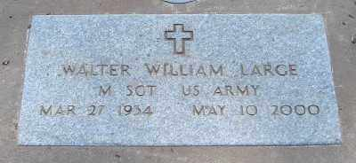 LARGE (SERV), WALTER WILLIAM - Marion County, Oregon | WALTER WILLIAM LARGE (SERV) - Oregon Gravestone Photos
