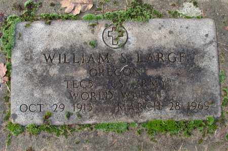 LARGE (WWII), WILLIAM S - Marion County, Oregon | WILLIAM S LARGE (WWII) - Oregon Gravestone Photos