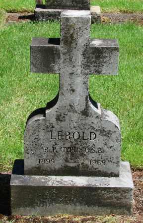 LEBOLD, CYRIL - Marion County, Oregon | CYRIL LEBOLD - Oregon Gravestone Photos