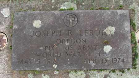 LEBOLD (WWII), JOSEPH R - Marion County, Oregon | JOSEPH R LEBOLD (WWII) - Oregon Gravestone Photos