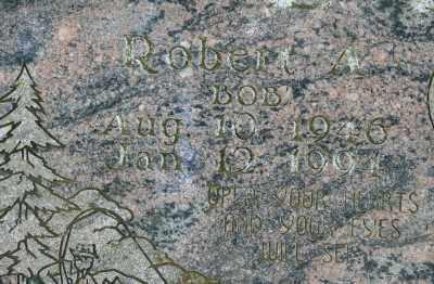 LEE, ROBERT A - Marion County, Oregon | ROBERT A LEE - Oregon Gravestone Photos