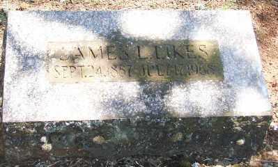 LIKES, JAMES L - Marion County, Oregon   JAMES L LIKES - Oregon Gravestone Photos