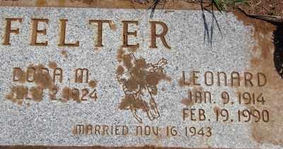 LINGENFELTER, LEONARD - Marion County, Oregon | LEONARD LINGENFELTER - Oregon Gravestone Photos