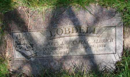 ALBRICH LOBDELL, ANITA C - Marion County, Oregon | ANITA C ALBRICH LOBDELL - Oregon Gravestone Photos