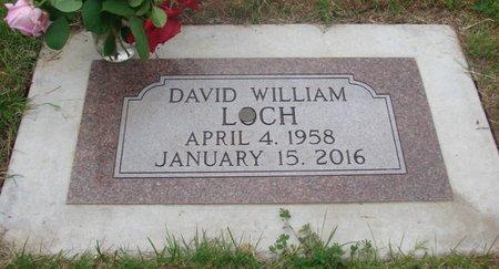 LOCH, DAVID WILLIAM - Marion County, Oregon   DAVID WILLIAM LOCH - Oregon Gravestone Photos