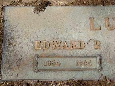 LUTHY, EDWARD P - Marion County, Oregon | EDWARD P LUTHY - Oregon Gravestone Photos