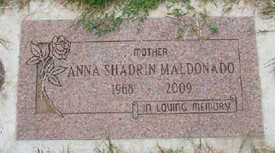 SHADRIN MALDONADO, ANNA - Marion County, Oregon | ANNA SHADRIN MALDONADO - Oregon Gravestone Photos