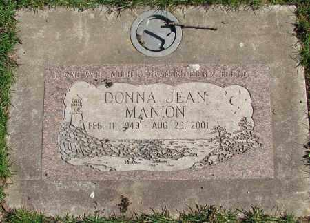 MANION, DONNA JEAN - Marion County, Oregon | DONNA JEAN MANION - Oregon Gravestone Photos