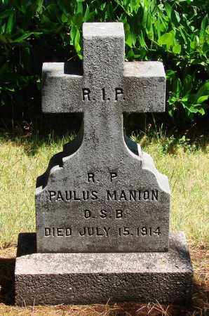 MANION, PAULUS - Marion County, Oregon | PAULUS MANION - Oregon Gravestone Photos