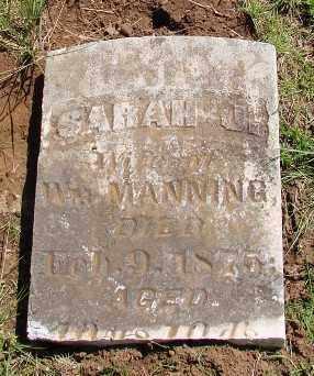 HUNT MANNING, SARAH JANE - Marion County, Oregon   SARAH JANE HUNT MANNING - Oregon Gravestone Photos