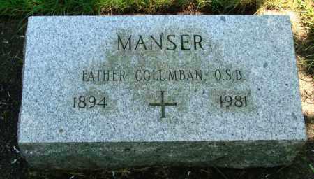 MANSER, COLUMBAN - Marion County, Oregon   COLUMBAN MANSER - Oregon Gravestone Photos