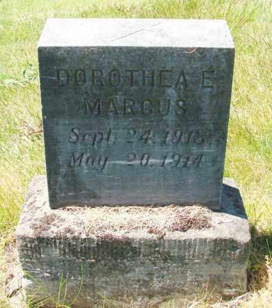 MARCUS, DOROTHEA E - Marion County, Oregon | DOROTHEA E MARCUS - Oregon Gravestone Photos