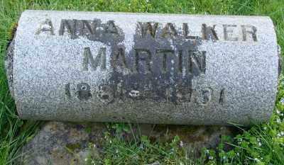 MARTIN, ANNA J - Marion County, Oregon | ANNA J MARTIN - Oregon Gravestone Photos