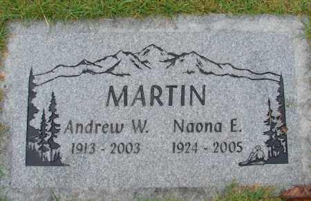 MARTIN, NAONA E - Marion County, Oregon | NAONA E MARTIN - Oregon Gravestone Photos