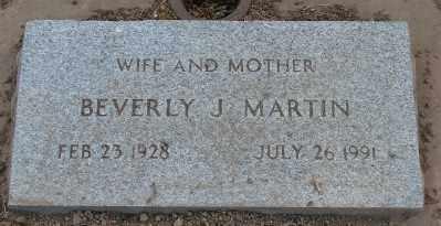 MARTIN, BEVERLY J - Marion County, Oregon | BEVERLY J MARTIN - Oregon Gravestone Photos
