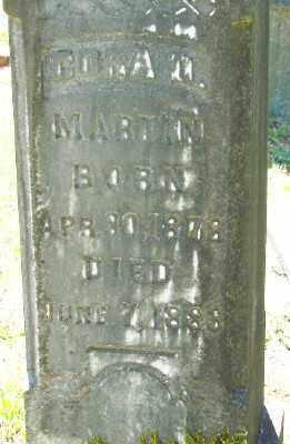 MARTIN, CORA M - Marion County, Oregon | CORA M MARTIN - Oregon Gravestone Photos