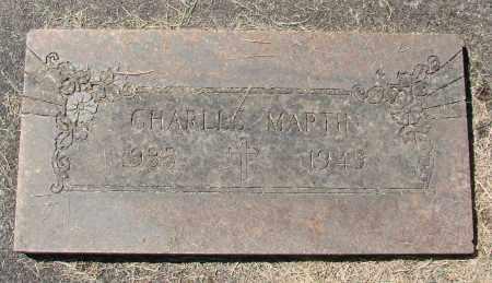 MARTIN, CHARLES - Marion County, Oregon | CHARLES MARTIN - Oregon Gravestone Photos