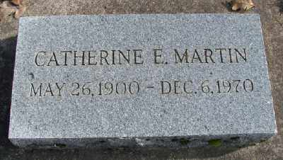 MARTIN, CATHERINE E - Marion County, Oregon | CATHERINE E MARTIN - Oregon Gravestone Photos