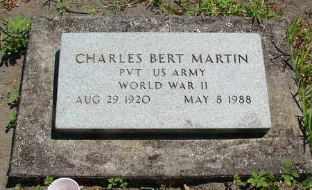 MARTIN, CHARLES BERT - Marion County, Oregon | CHARLES BERT MARTIN - Oregon Gravestone Photos