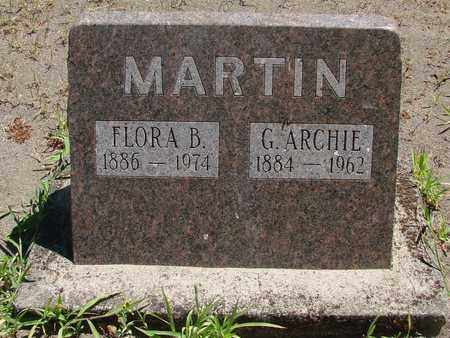 MARTIN, GEORGE ARCHIE - Marion County, Oregon | GEORGE ARCHIE MARTIN - Oregon Gravestone Photos