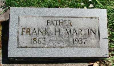 MARTIN, FRANK H - Marion County, Oregon   FRANK H MARTIN - Oregon Gravestone Photos